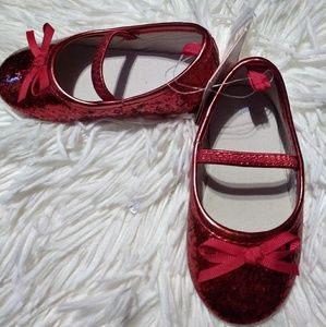 GYMBOREE red girl shoes
